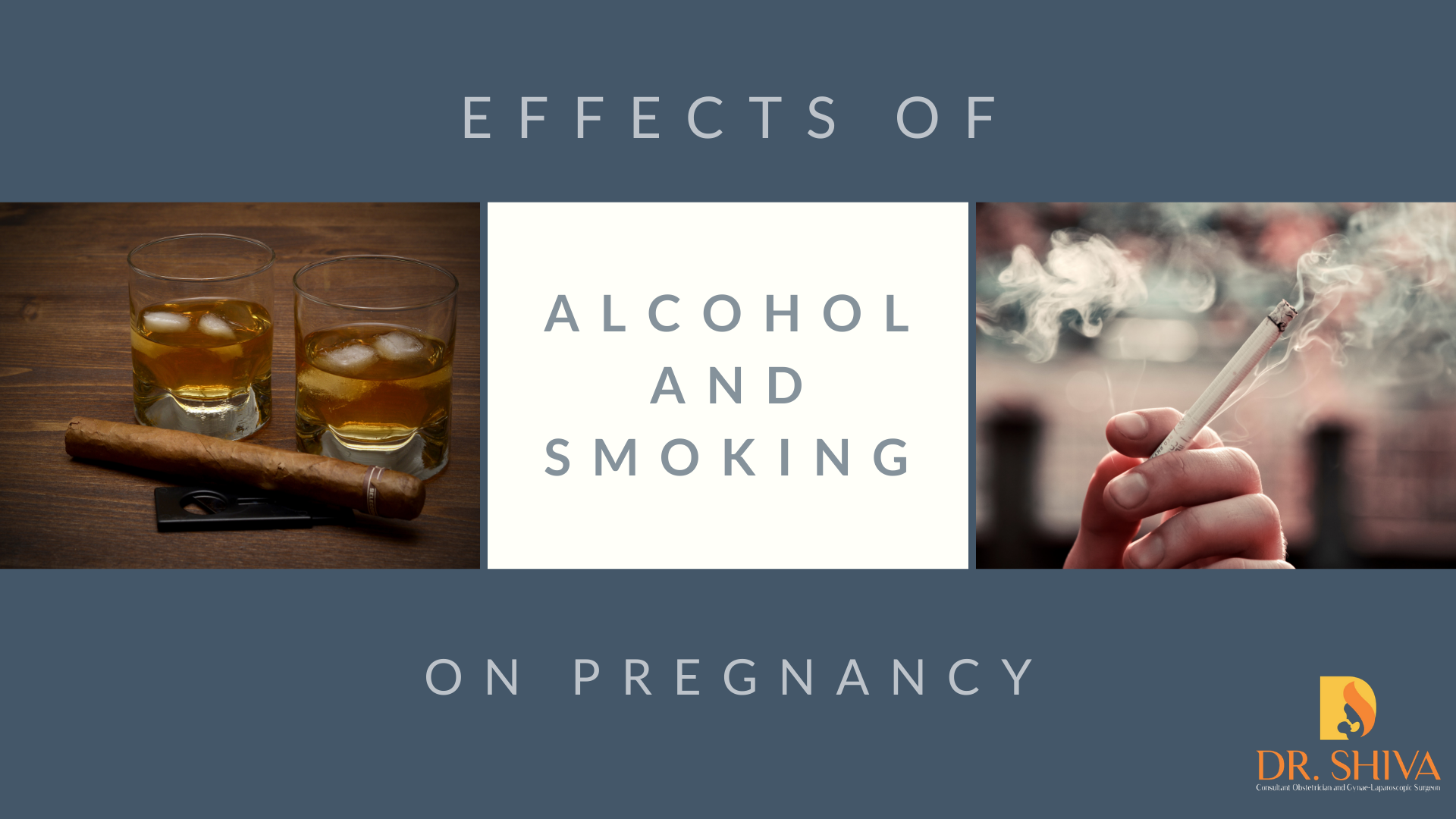 Effects of alcohol and smoking on pregnancy